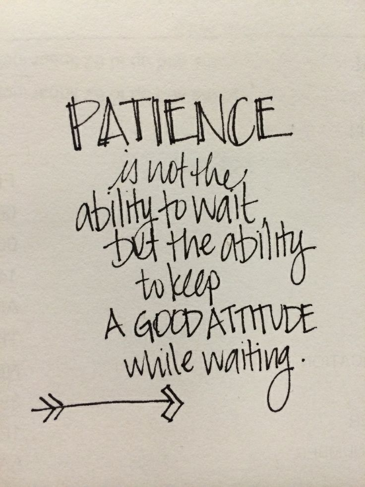 Patience Typography & Quotes Pinterest Beautiful