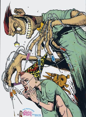 Jamie Hewlett: Tank Girl                                                                                                                                                      More