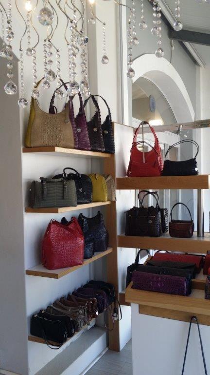 Via La Moda exotic leather handbags and accessories are available at Ulka Designs in Cape Town's Alfred Mall 021 419 9506  Facebook: www.facebook.com/Ulka-Designs Twitter: @UlkaDesigns Instagram: @UlkaDesigns Website: www.ulkadesign.com