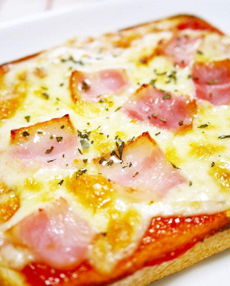 朝食ランチトーストに♪おうちピザトースト by ほっこり~の [クックパッド] 簡単おいしいみんなのレシピが241万品