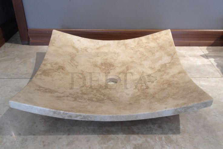 Kahire Classic Travertine sink (DLT713)