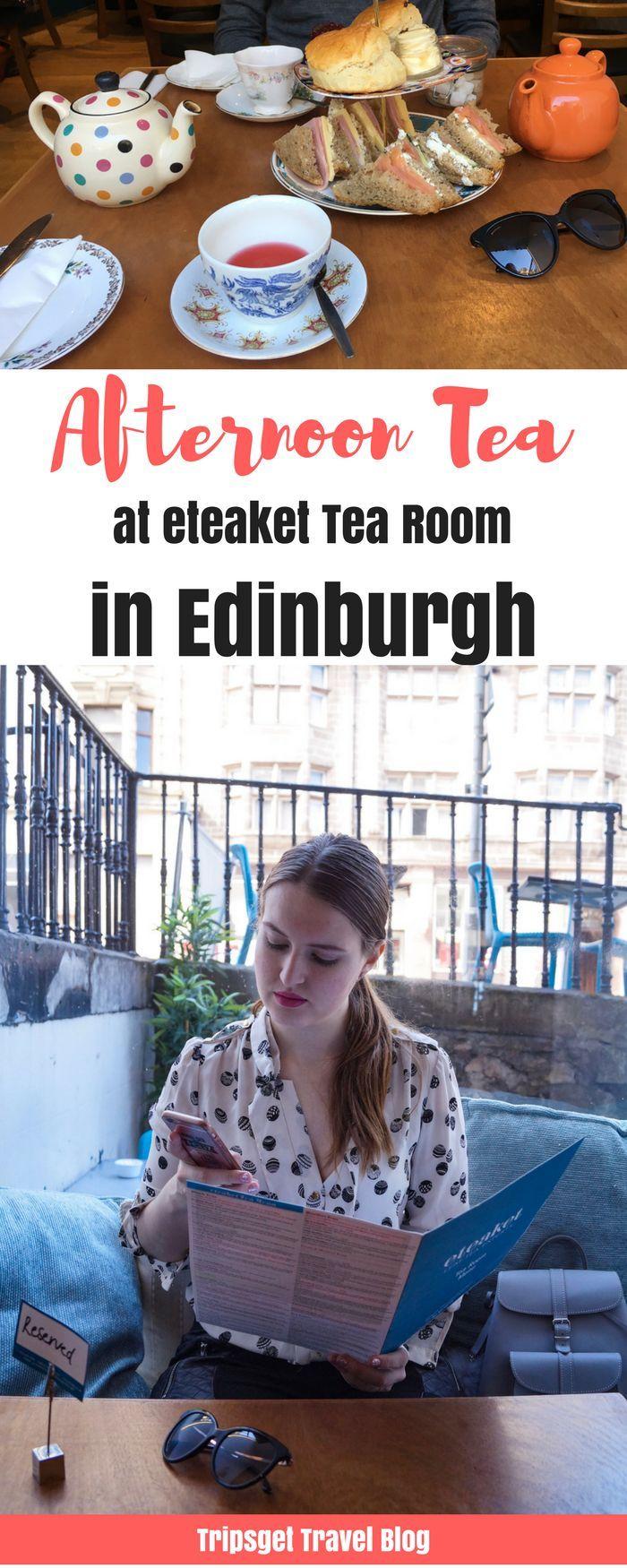 Great Afternoon Tea in Edinburgh - eteaket tea room