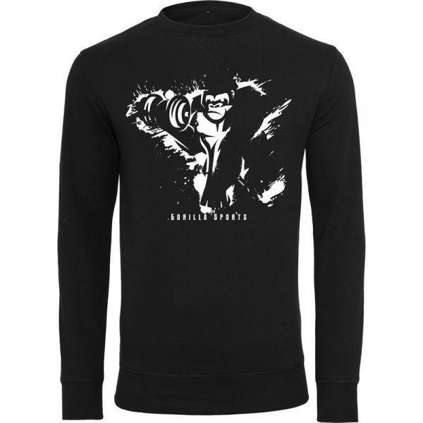 Gorilla Sports Crewneck Musta/Valkoinen, 29,95 €. Tyylikäs Gorilla Sportsin Crewneck paita! Paita on saatavina kolmena eri värinä: Musta/Valkoinen, Musta/Harmaa ja Musta/Punainen. paita soveltuu hyvin kuntosalille, kotona treenaamiseen sekä myös vapaa-ajan käyttöön. #paita #gorilla