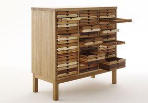 kommode, schmuck und sammlerschrank SIXtematic von sixay furniture - designermöbel aus vollholz in höchstqualität