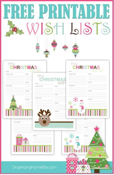 Best 25+ Christmas List Printable Ideas On Pinterest Christmas   Christmas  List Template For Kids  Christmas List Template For Kids
