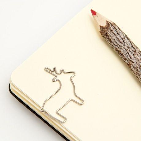 Reindeer Paper Clips
