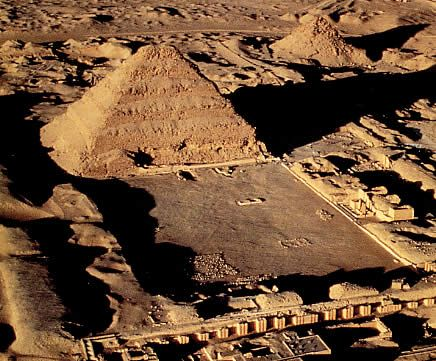 Sakkara (Saqqara) is best known for the Step Pyramid, the oldest known of Egypt's 97 pyramids. It was built for King Djoser of Dynasty 3 by the architect and genius Imhotep.