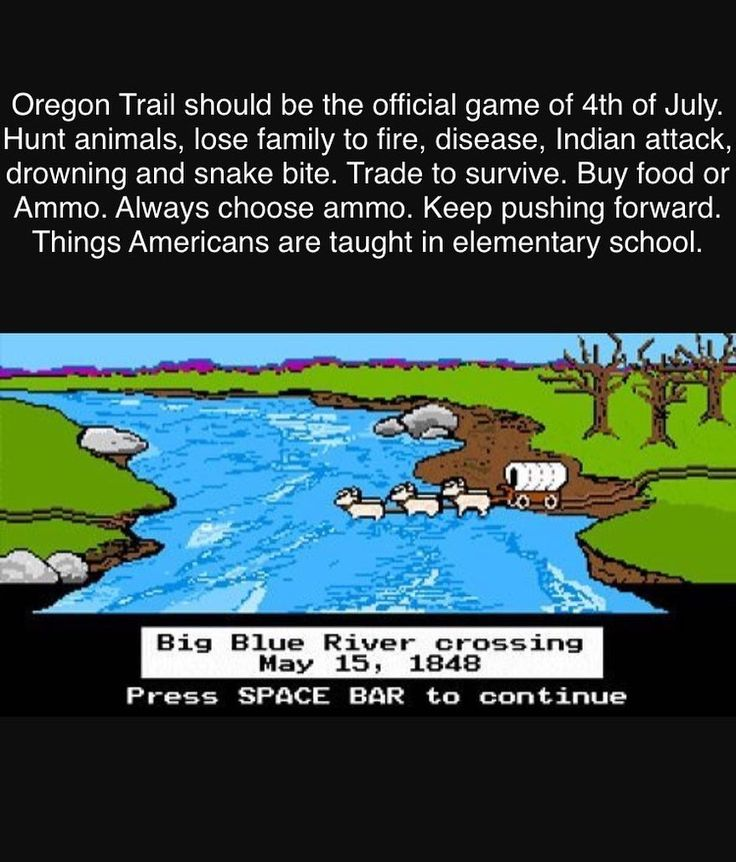 Oregon Trail was actually a required class for my school. Brutal lessons learned in that game. Buy a wagon so you can go through hell to find a potentially better job and life. Or die trying. #america #hustle #work #ammo #school #patriots #warriors #usa #hunt #ammo #history #guns #grind #work #live #survive #push #independence #freedom #4thofjuly  Photo cred social media week and Anna Garvey. http://misstagram.com/ipost/1551519362191969819/?code=BWIGqO9l84b