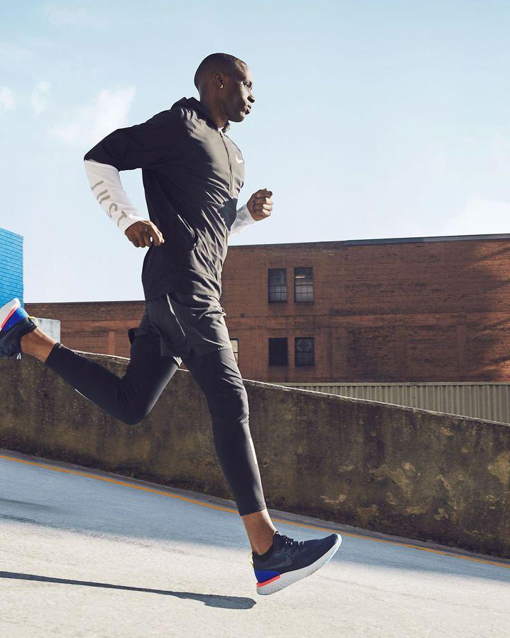 Nike Epic React Flyknit Men S Running Shoe Sports Photoshoot Running Photography Activewear Photoshoot