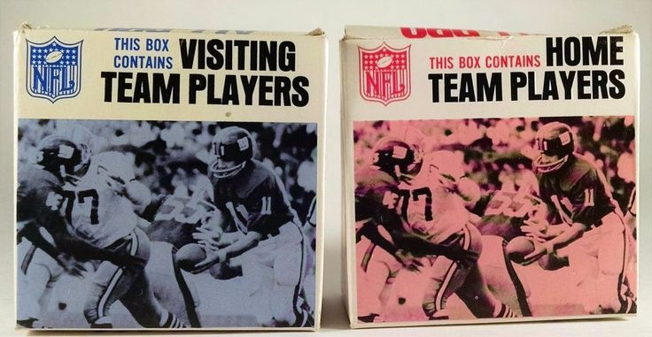 1967 NFL ALL PRO FOOTBALL Game Replacement Plastic TOKENS - Vintage IDEAL   #Ideal