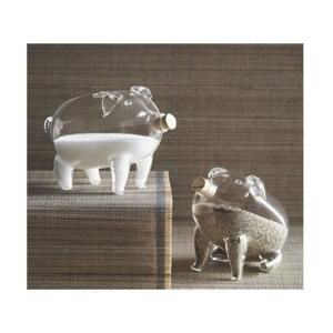 Suzie: Decor/Accessories - Pig Salt & Pepper Shakers - pig, salt, pepper, shakers
