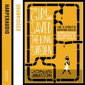 I just finished listening to The Girl Who Saved the King of Sweden (Unabridged) by Jonas Jonasson, narrated by Peter Kenny on my #AudibleApp. https://www.audible.co.uk/pd?asin=B00JJXX06U&source_code=AFAORWS04241590G4