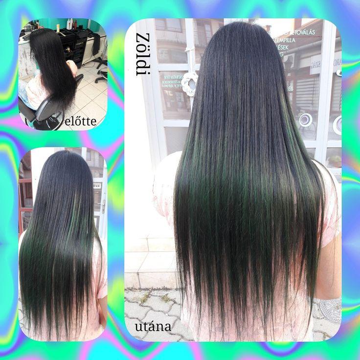 #zöldiszilvia #munkám #mywork #hajfestés #haircolor