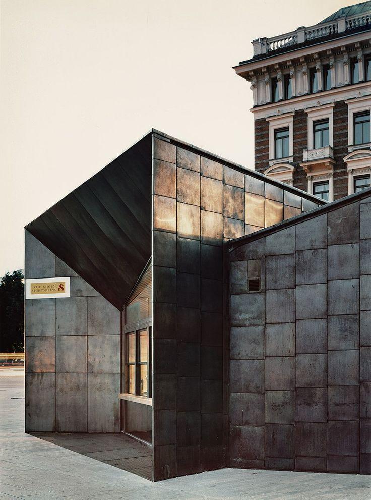 Il terminal dei traghetti a Stoccolma ha ricevuto una menzione speciale al concorso Copper in Architecture 2015. Il progetto è di Marge Arkitekter. #CopperAwards2015