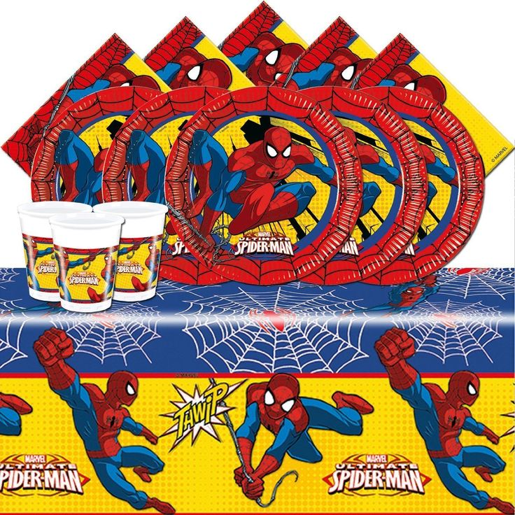 #Spiderman  essential kids birthday party kit spiderman party #supplies #superher,  View more on the LINK: http://www.zeppy.io/product/gb/2/302080833407/