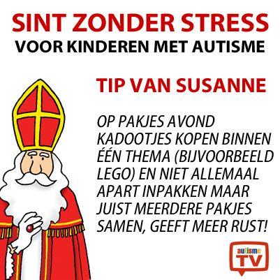 Hoe vier je Sint zonder Stress? Susanne heeft een tip!