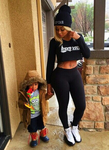Blac chyna and king