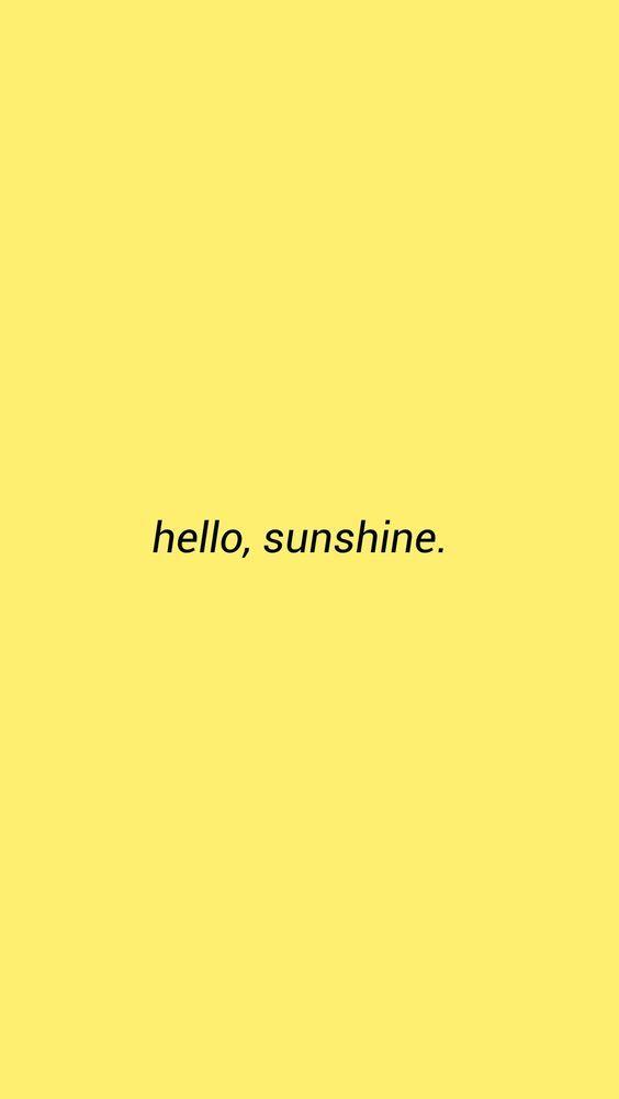 aesthetic #yellow #wallpaper | Aesthetic in 2019 | Yellow