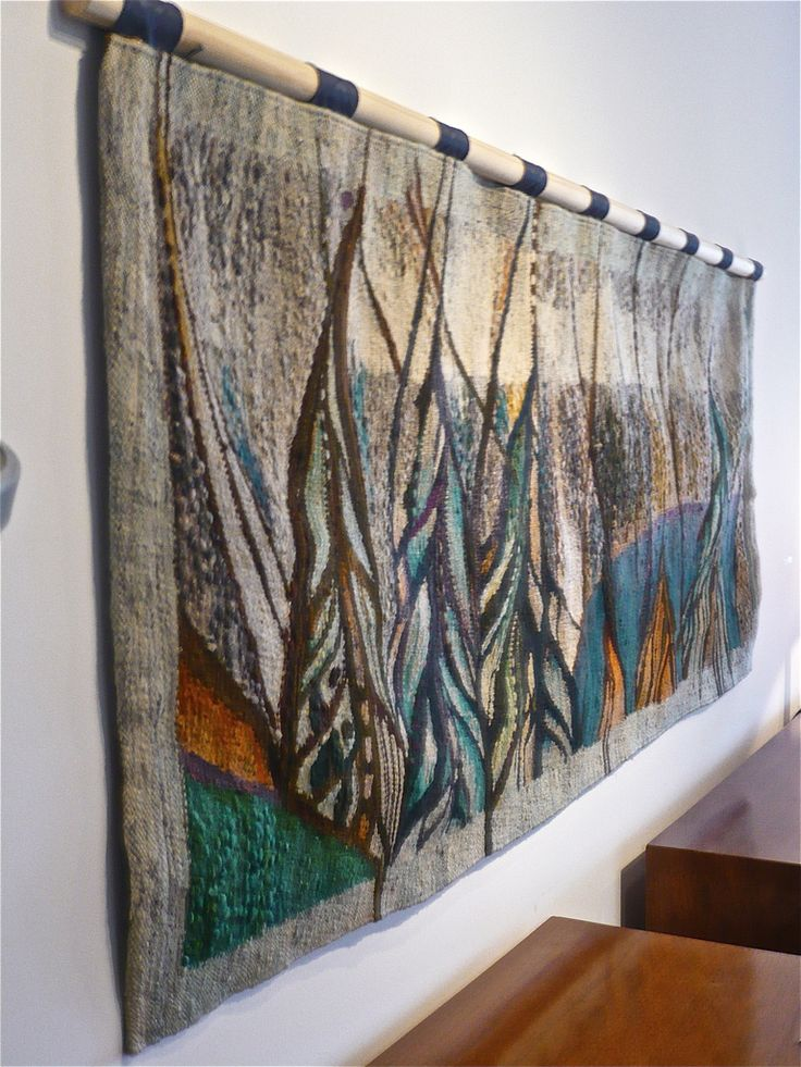 1stdibs.com | 60's Abstract Wool Tapestry