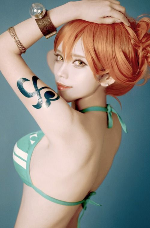 Have faced one piece nami cosplay apologise, but
