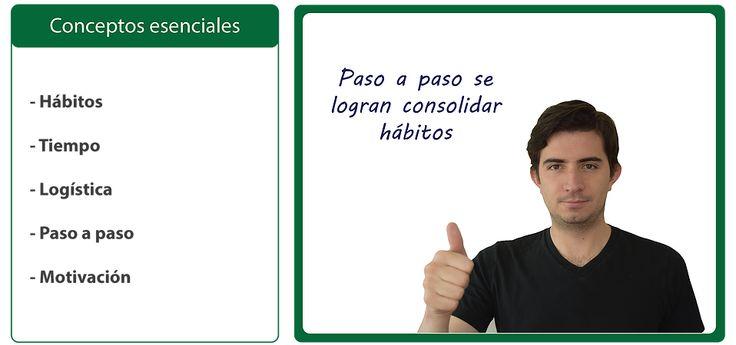 Consolidar hábitos. Santiago Restrepo. Business life