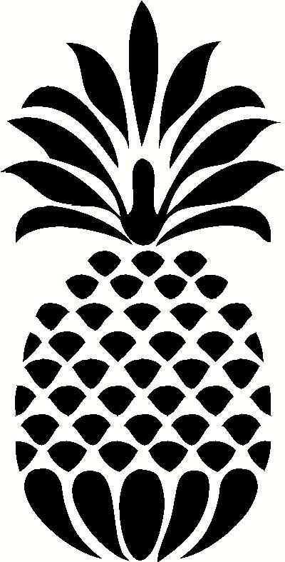 Incroyable Decorative Pineapple Vinyl Decal | Car Decal | Kitchen Decals | The Wall  Works