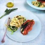 Recept kabeljauw gewikkeld in serranoham met salie