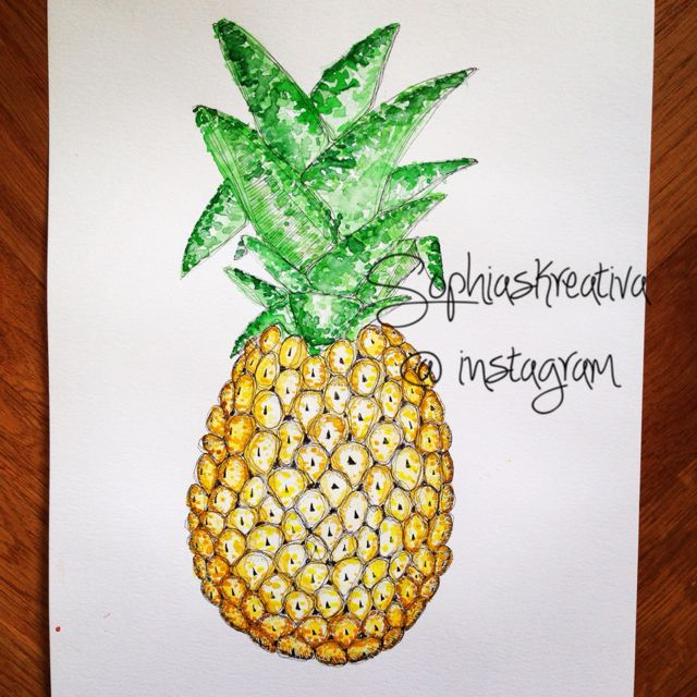 Mmm ananas!