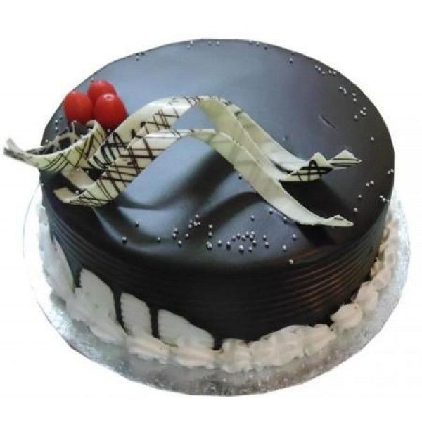Marvelous Half Kg Choco Vanilla Cake Order And Send 1 2 Kg Choco Vanilla Funny Birthday Cards Online Aboleapandamsfinfo