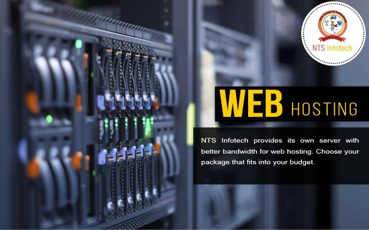 NTS INFOTECH provides its own server with better bandwidth for web hosting, choose your package that fits into your budget.Please visit us- www.ntsinfotechindia.com