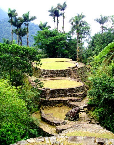 "Ciudad Perdida (""Lost city""), Tayrona National Natural Park, #Colombia. enjoy the nature of Colombia: http://www.going2colombia.com/colombia-nature.html"