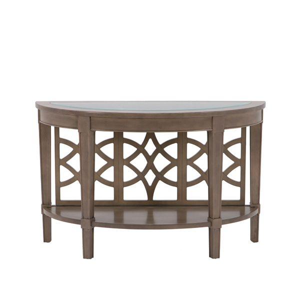 Riverside Demilune Sofa Table