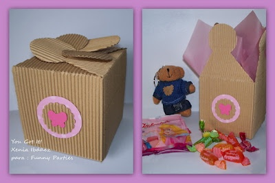 Caja para sorpresa de cumpleaños
