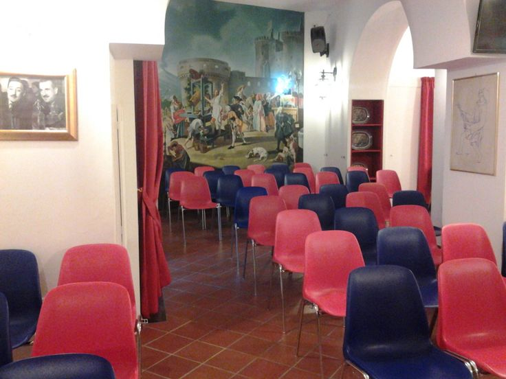 Meeting Room in Hotel Canova. Rome (Ytali)