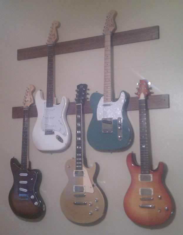 How To Hang Guitar On Wall best 25+ guitar rack ideas only on pinterest | guitar stand