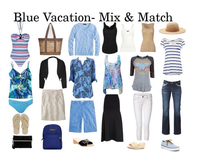Beach/Cruise vacation wardrobe blog post!