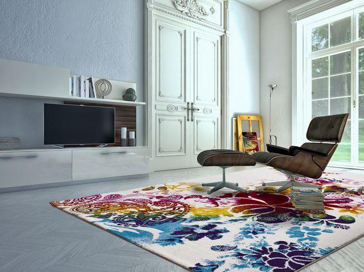 alfombra belis flor - Alfombras Salon