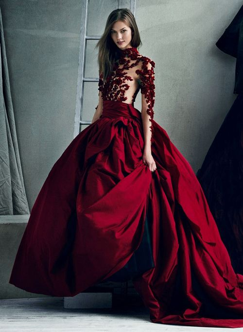 [Karlie Kloss by Norman Jean Roy for Vogue September 2012]