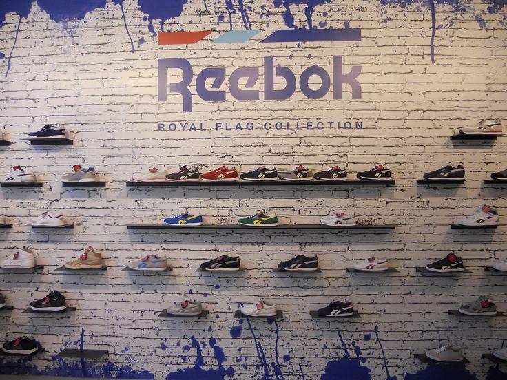 #reebok #jkrproductions #showroom #monza #setup #shoes #sport #colors #kids #royal #flag #collection