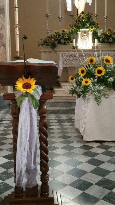 #Girasoli...ma quanto sono belli?? :) http://www.danielasposa.it/?p=2123 #danielasposa #weddingtips