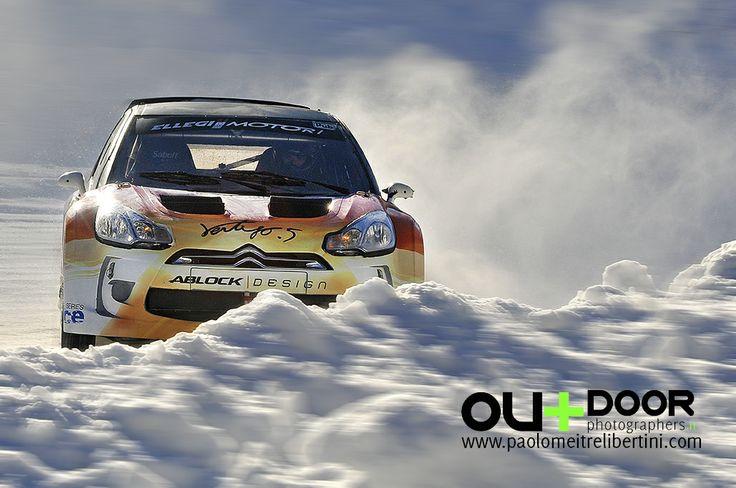 "Fotografia sportiva, Rally ghaccio neve Pragelato ICE SERIES 2014 ""PANNING"""