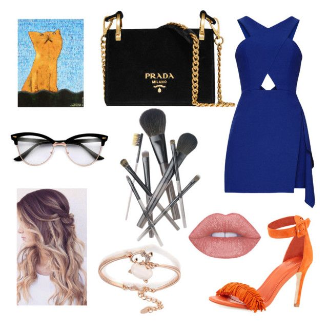 complementary color scheme dress by sweetdollanjali on Polyvore featuring polyvore fashion style Joie Prada NOVICA Joe Fresh clothing
