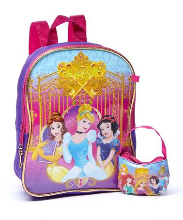 Another great find on #zulily! Disney Princess Backpack #zulilyfinds