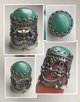 New russian thimble with stone #2