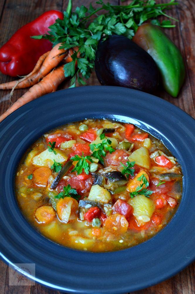 Ghiveci de legume la slow cooker - CAIETUL CU RETETE