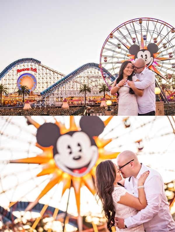 Alice and Rudy's Disneyland Engagement Photos - Inspired By Dis