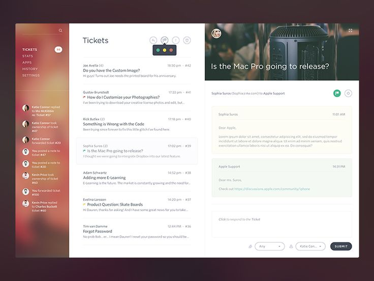 UI/UX Works by Victor Erixon