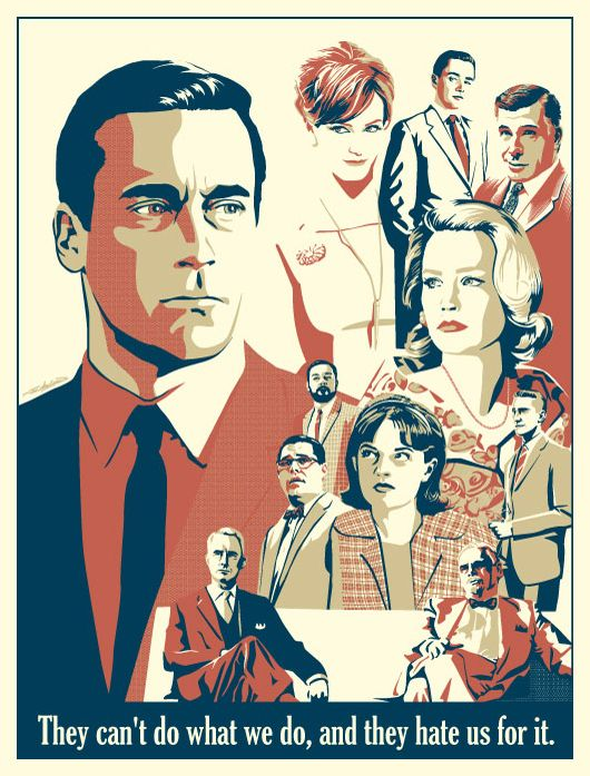 Great line. #madmen