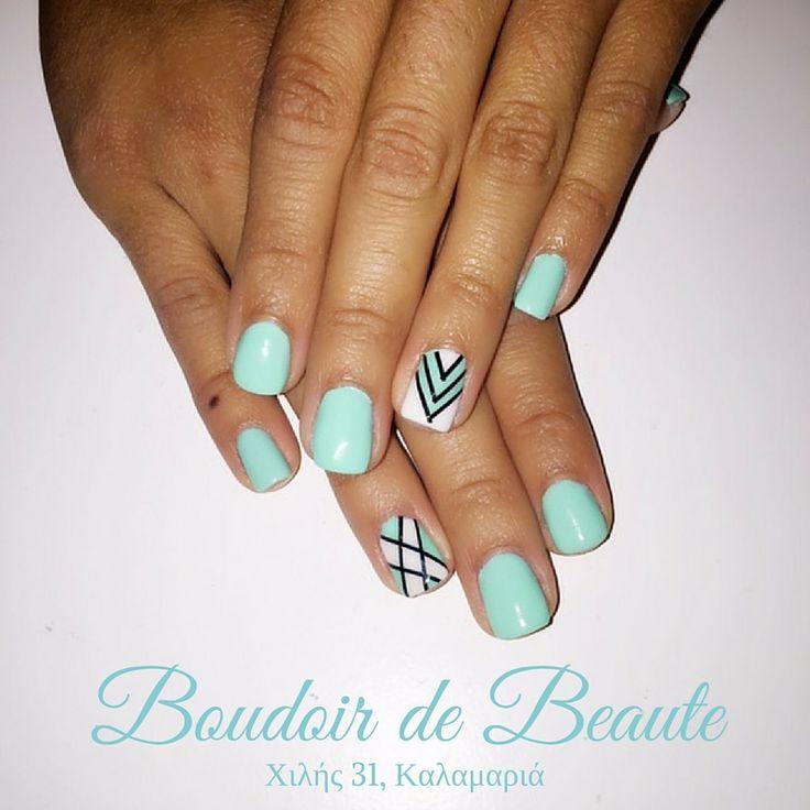 Σε συνάντησα στην πλαζ...και φορούσες τιρκουάζ! #nails #nailswag #nailsalon #kalamaria #skg #thessaloniki #beautysalon #beauty #naildesign #nailpolish #boudoirdebeaute #boudoir_de_beaute #manicure #nails_greece #nailsoftheday #nailporn #nailaddict #nailart #turqoise
