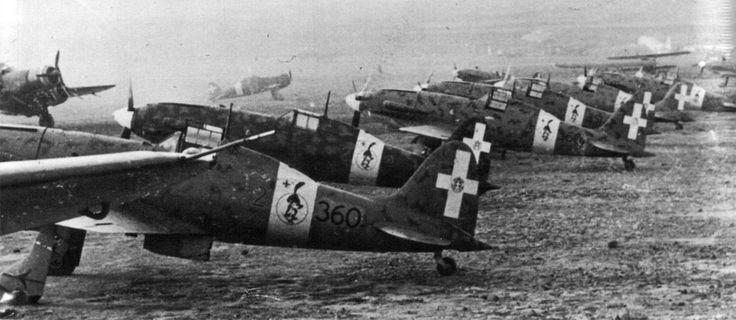 Macchi C.202, MM9291, 360-2, 251 Stormo 155 Gruppo 360 Squadriglia,  Chinisia, 1942